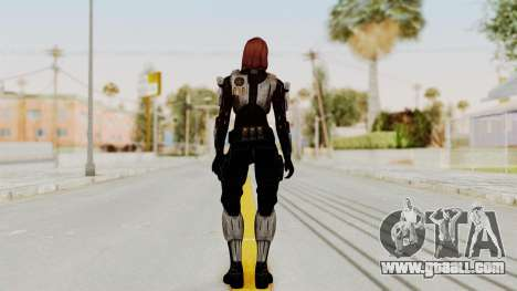 Mass Effect 3 Female Shepard Ajax Armor for GTA San Andreas third screenshot