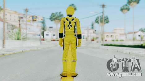 Power Rangers Jungle Fury - Yellow for GTA San Andreas third screenshot