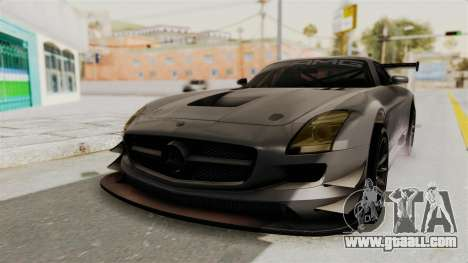 Mercedes-Benz SLS AMG GT3 PJ1 for GTA San Andreas