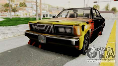 GTA VC Cuban Sentinel for GTA San Andreas