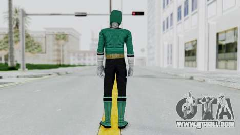 Power Rangers Samurai - Green for GTA San Andreas third screenshot