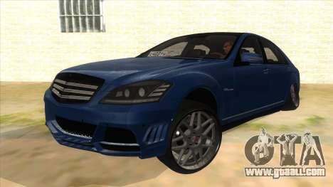 Mercedes-Benz S65 Rus Stance for GTA San Andreas