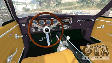 GTA 5 Pontiac Tempest Le Mans GTO 1965 rear right side view