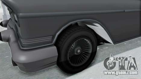 GTA 5 Declasse Tornado No Hifi and Hydro for GTA San Andreas back view