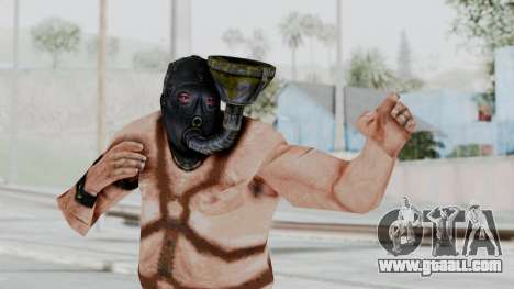 Manhunt 2 - Gimp Bouncer for GTA San Andreas