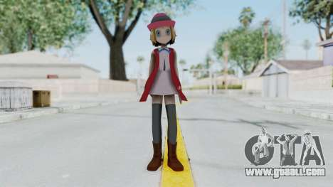 Pokémon XY Series - Serena (New Outfit) for GTA San Andreas second screenshot