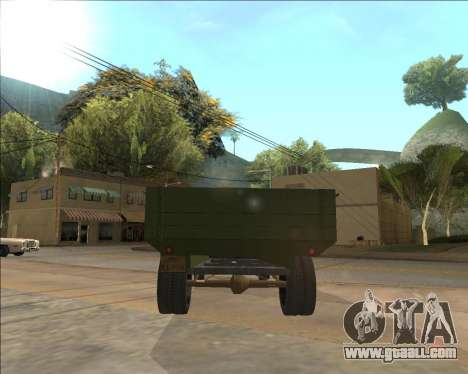 GAZ AA Lorry for GTA San Andreas right view
