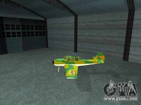 Yak-52 for GTA San Andreas left view