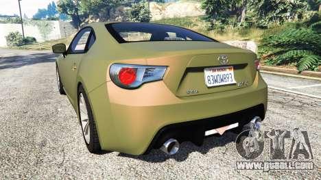 Toyota GT-86 v1.6 for GTA 5