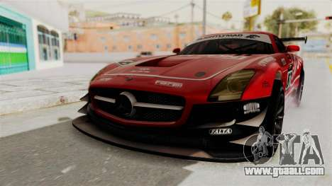 Mercedes-Benz SLS AMG GT3 PJ1 for GTA San Andreas bottom view
