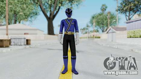Power Rangers Samurai - Blue for GTA San Andreas second screenshot