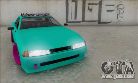 Elegy Stance for GTA San Andreas right view