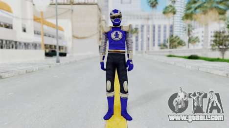 Power Rangers Ninja Storm - Navy for GTA San Andreas second screenshot