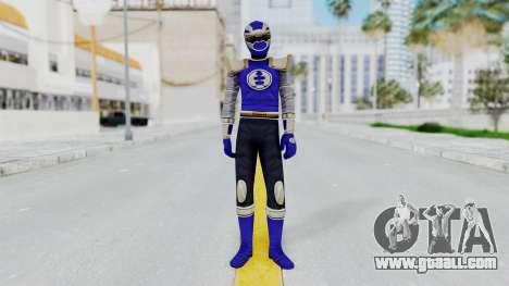 Power Rangers Ninja Storm - Navy for GTA San Andreas second screenshot