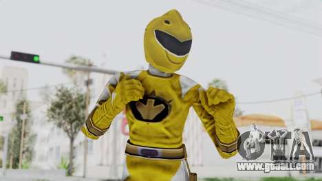 Power Rangers Dino Thunder - Yellow for GTA San Andreas
