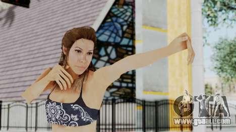 GTA 5 Liz (Elisa Macallen) for GTA San Andreas