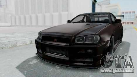 Nissan Skyline R34 GTR 2002 V-Spec II S-Tune for GTA San Andreas
