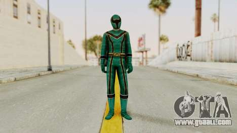 Power Rangers Mystic Force - Green for GTA San Andreas second screenshot
