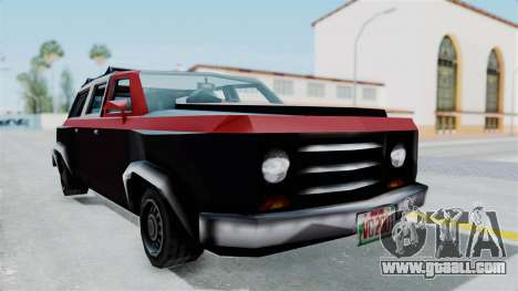 VCS Gang Rancher for GTA San Andreas right view