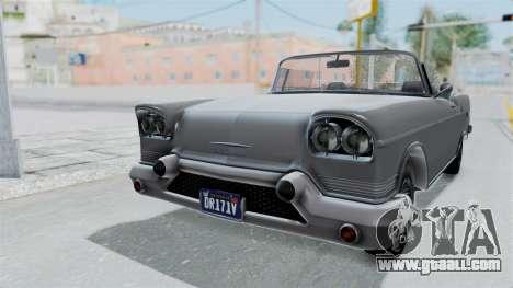 GTA 5 Declasse Tornado No Hifi and Hydro for GTA San Andreas right view