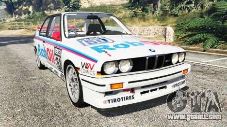 BMW M3 (E30) 1991 v1.3 for GTA 5
