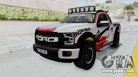 Ford F-150 Raptor 2015 for GTA San Andreas right view