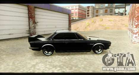 BMW 3.0 CSL for GTA San Andreas back view