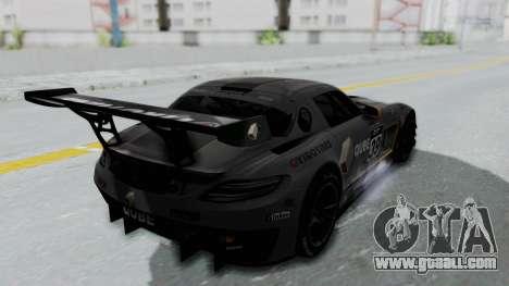 Mercedes-Benz SLS AMG GT3 PJ5 for GTA San Andreas upper view