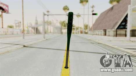 Nail Baseball Bat v1 for GTA San Andreas second screenshot