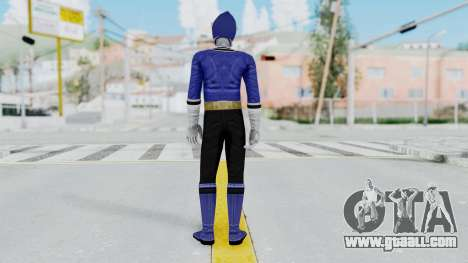 Power Rangers Samurai - Blue for GTA San Andreas third screenshot