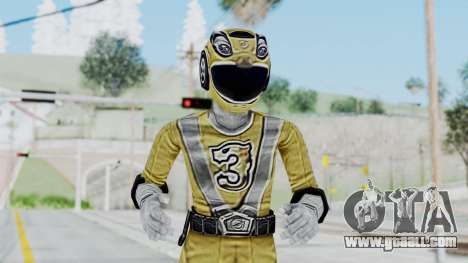 Power Rangers RPM - Yellow for GTA San Andreas