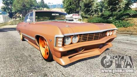 Chevrolet Impala 1967 for GTA 5