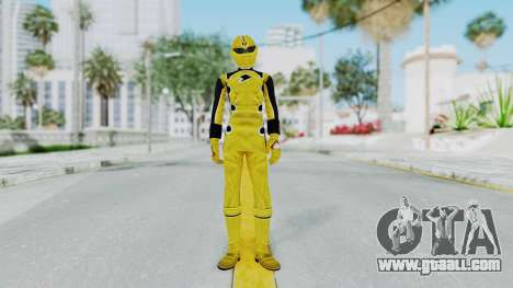 Power Rangers Jungle Fury - Yellow for GTA San Andreas second screenshot