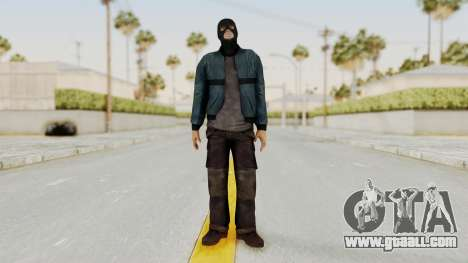 Wanted Weapons Of Fate Chicago Grunt Masked for GTA San Andreas second screenshot