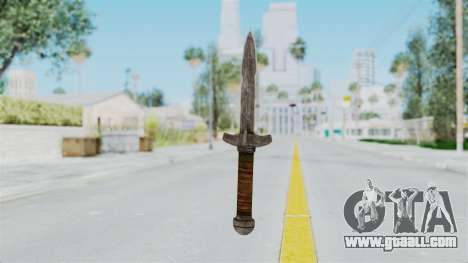 Skyrim Iron Dager for GTA San Andreas second screenshot