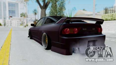 Nissan 180SX TOD for GTA San Andreas left view