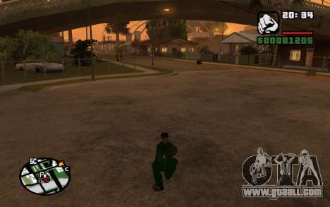 CJ Animation ped for GTA San Andreas fifth screenshot