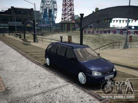 VAZ Kalina 1117 7-door for GTA 4 inner view