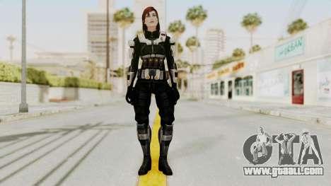 Mass Effect 3 Female Shepard Ajax Armor for GTA San Andreas second screenshot