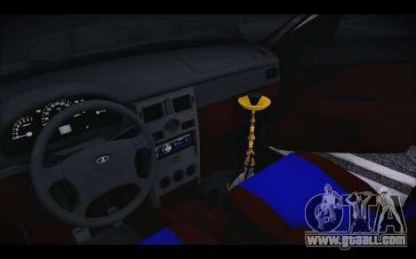 Lada Priora for GTA San Andreas inner view