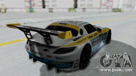 Mercedes-Benz SLS AMG GT3 PJ5 for GTA San Andreas inner view