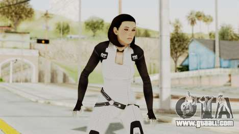 ME3 Dr. Eva Custom Miranda Castsuit for GTA San Andreas