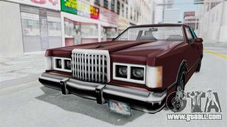 Beta VC Cougar for GTA San Andreas