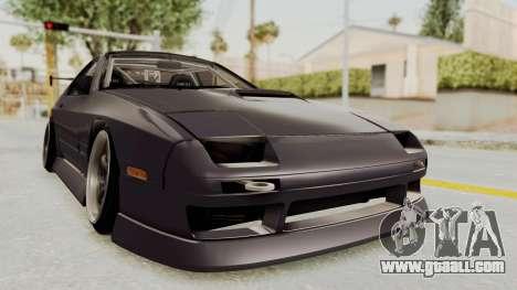 Mazda RX-7 1990 (FC3S) Cordelia Glauca Itasha for GTA San Andreas right view