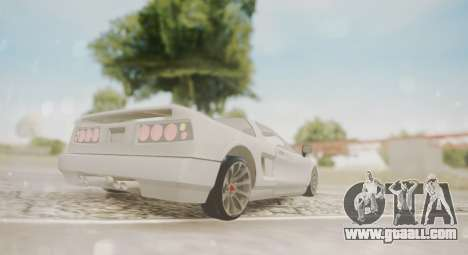 Infernus for GTA San Andreas right view