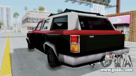 VCS Gang Rancher for GTA San Andreas left view