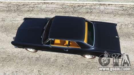 GTA 5 Pontiac Tempest Le Mans GTO 1965 back view