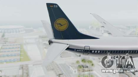 Boeing 737-300 for GTA San Andreas back left view