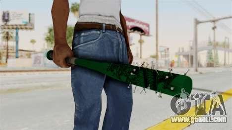Nail Baseball Bat v1 for GTA San Andreas