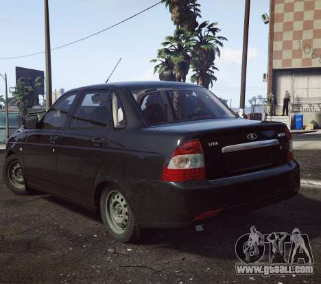 GTA 5 VAZ 2170 right side view